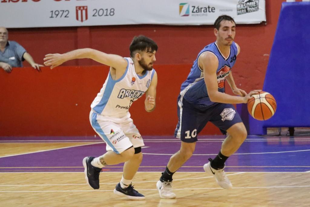 Zárate Basket quiere seguir en la senda ganadora