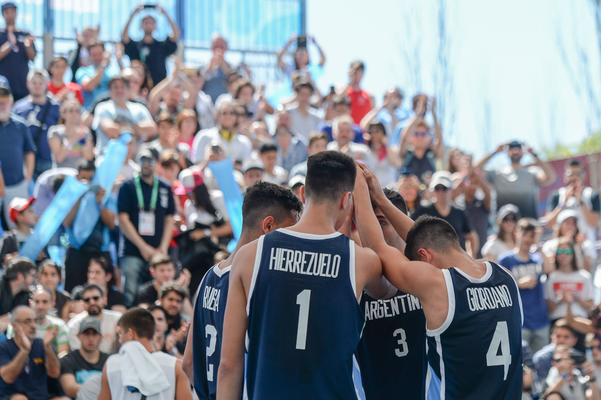 Argentina confirmó su plantel para el Mundial U18 de 3x3