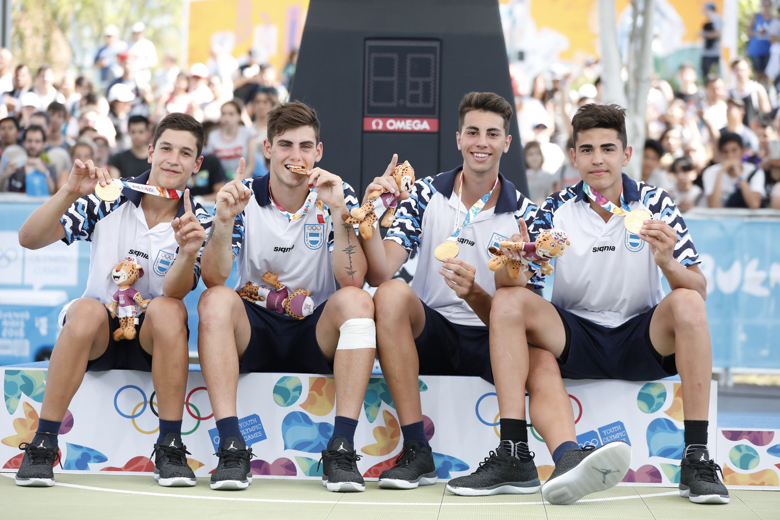 ¡Argentina medalla de oro!