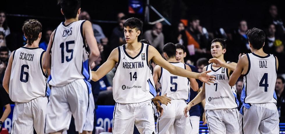 Juan Francisco Fernández, un nuevo argentino en el Básquet Sin Fronteras de la NBA
