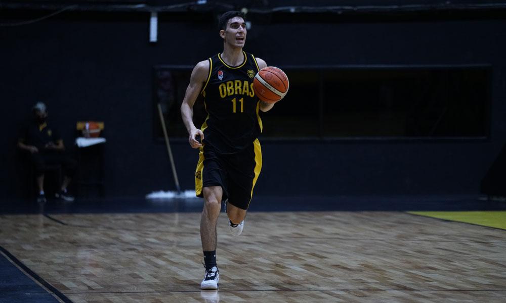 Obras Basket volvió al triunfo en el Torneo Federal