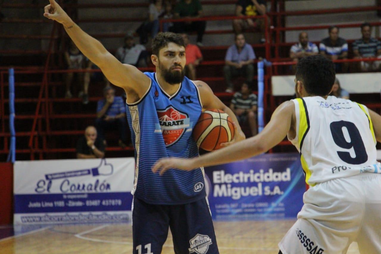 Zárate Basket le ganó a Gimnasia de Pergamino y le quitó el tercer puesto