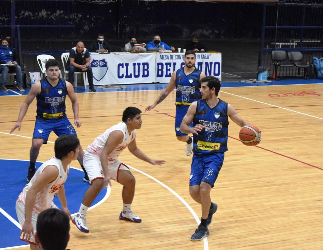 Belgrano derrotó con solvencia a Villa 20 de Febrero