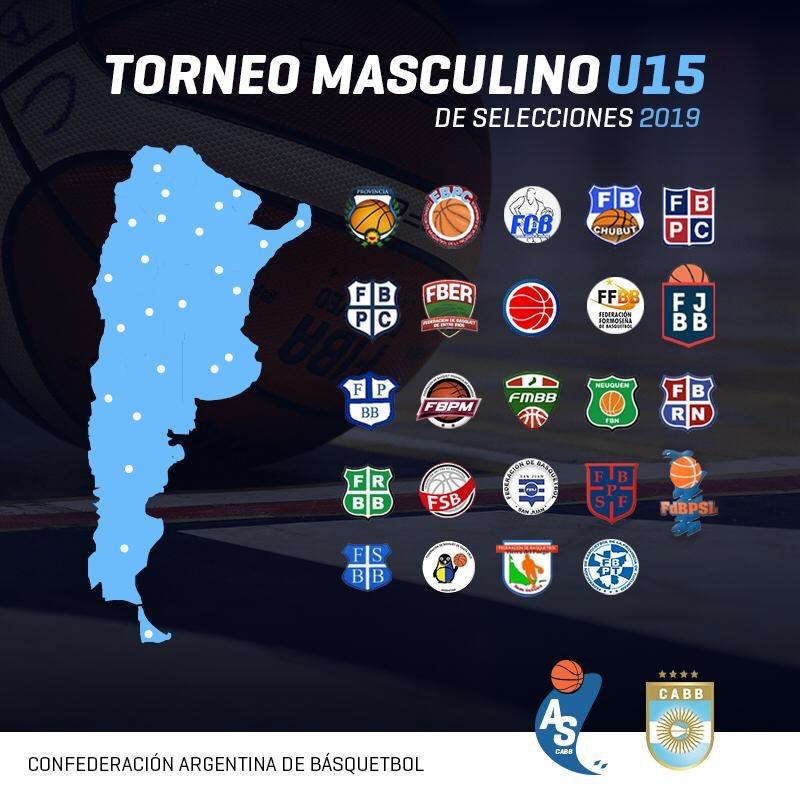 Con participación récord, arranca el Argentino U15