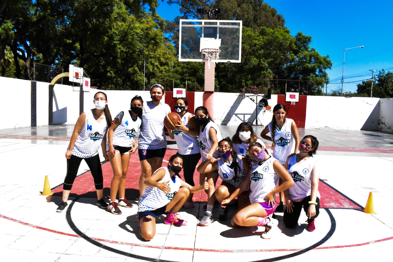 San Juan organizó su primer campus de básquet femenino