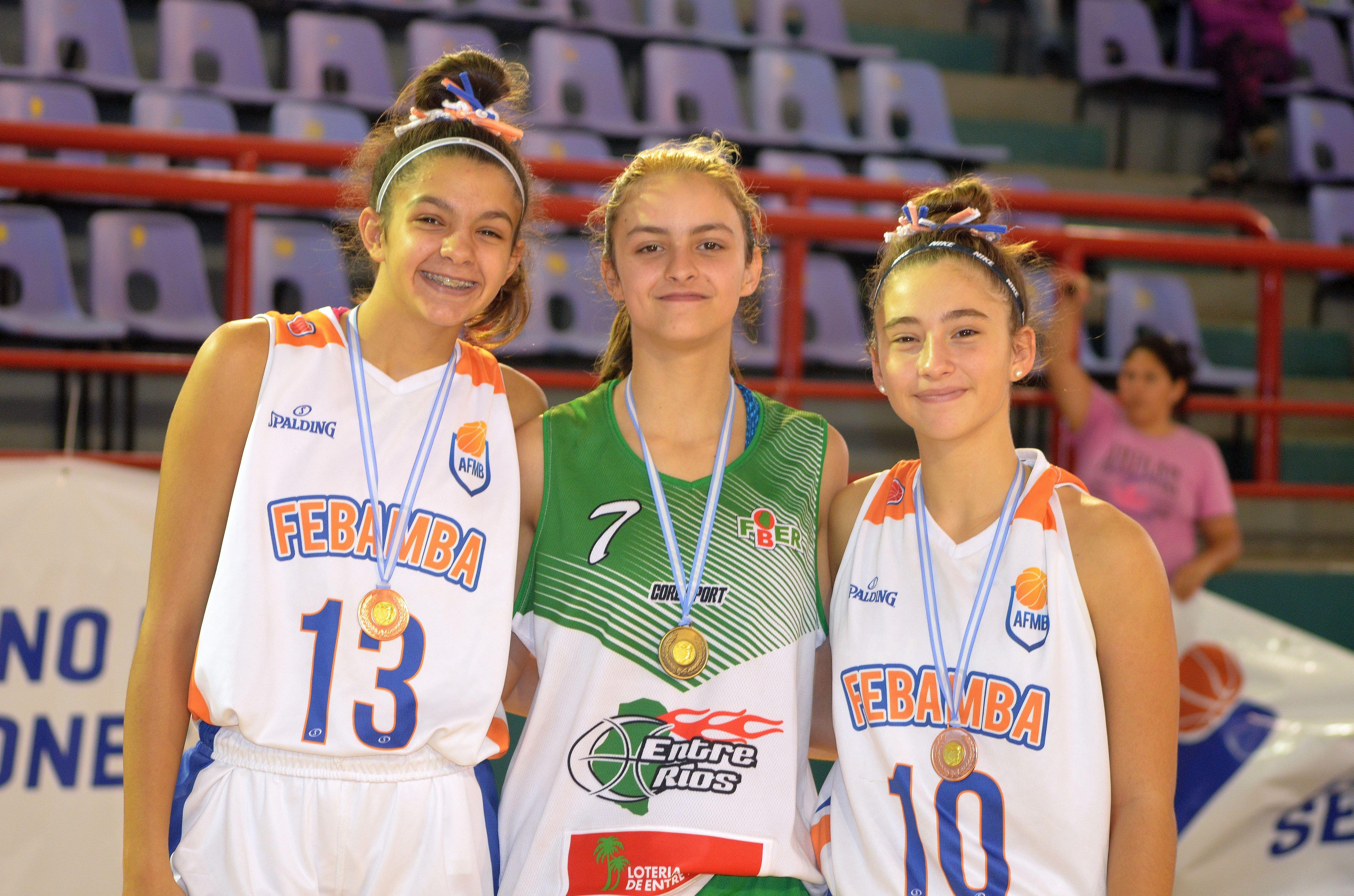 Seis argentinos al Campamento Jr NBA en Brasil