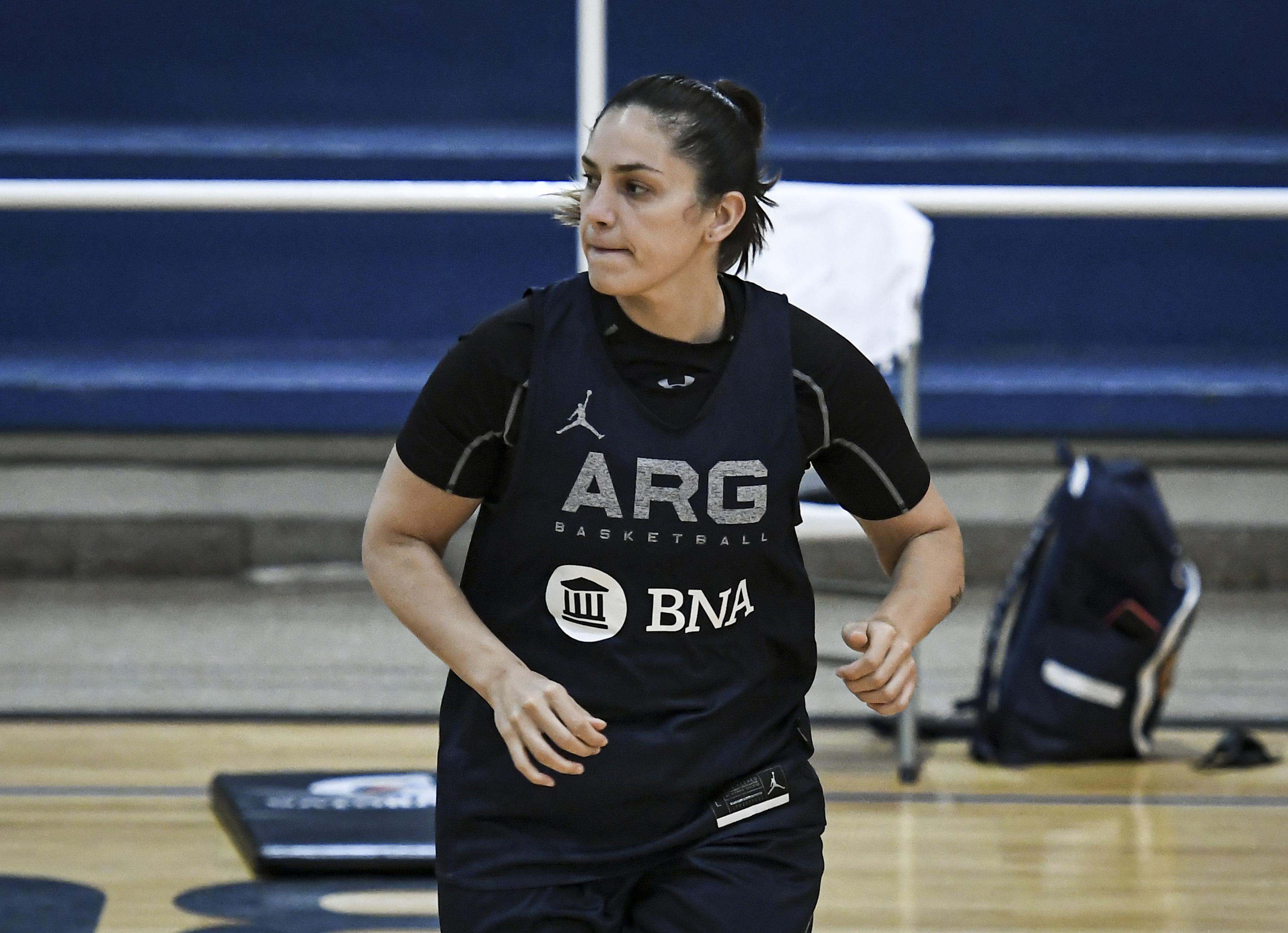 """Ornella Santana, referente de la Selección: """"Disfruto volver a entrenar, sirve para conocer a las más chicas"""""""