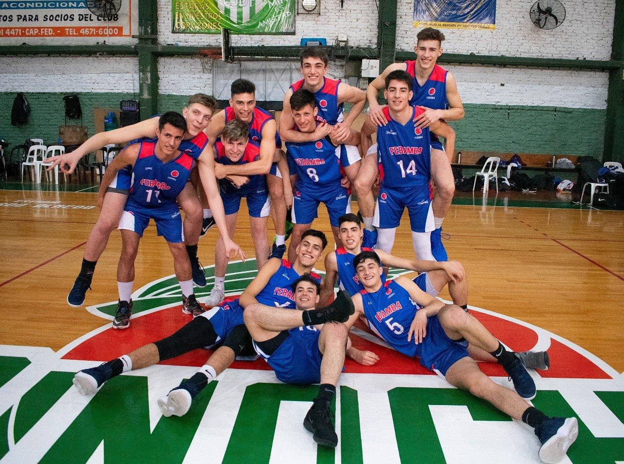 El Argentino U17 masculino abrió con una jornada apasionante
