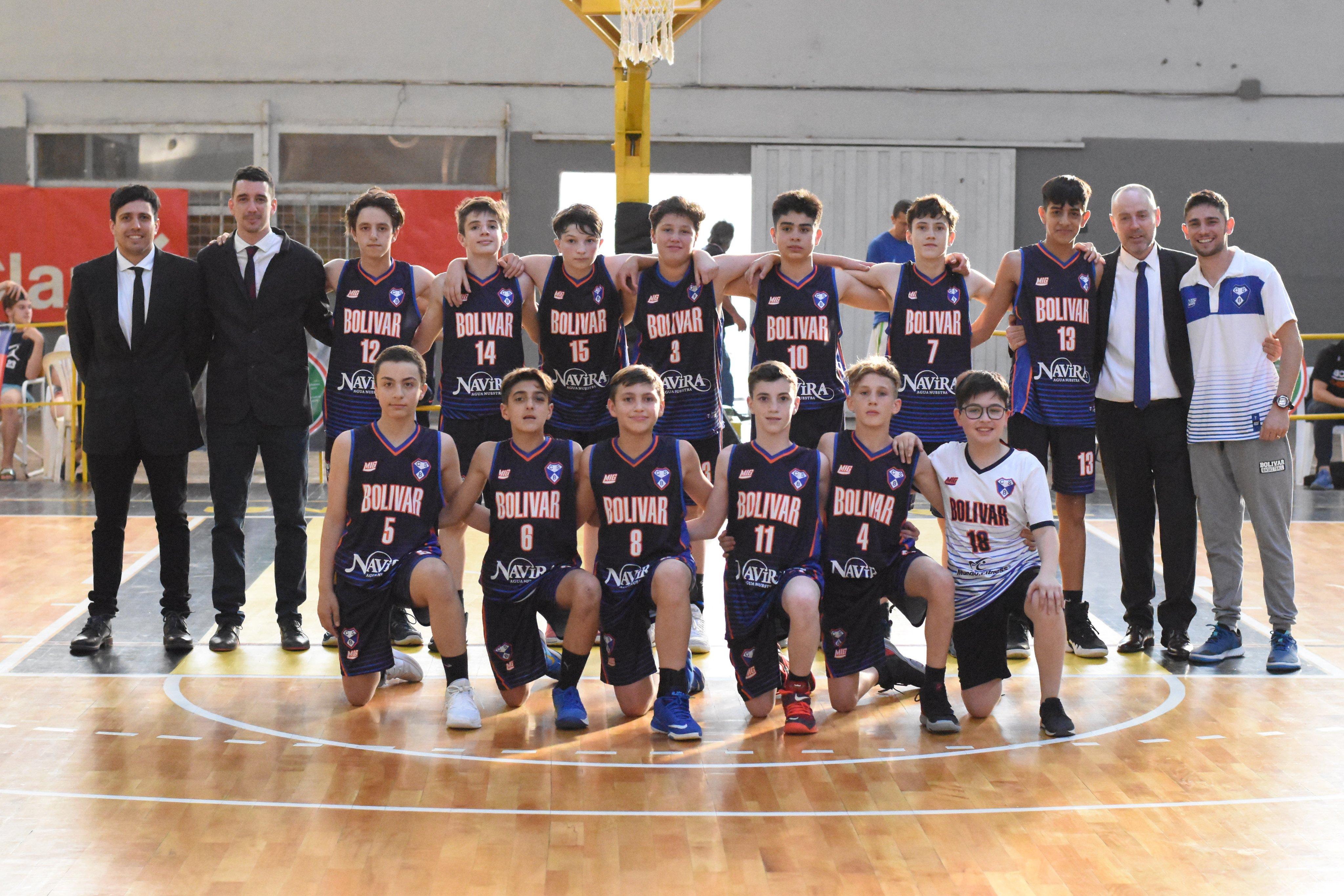 Intenso inicio del Argentino de Clubes U13