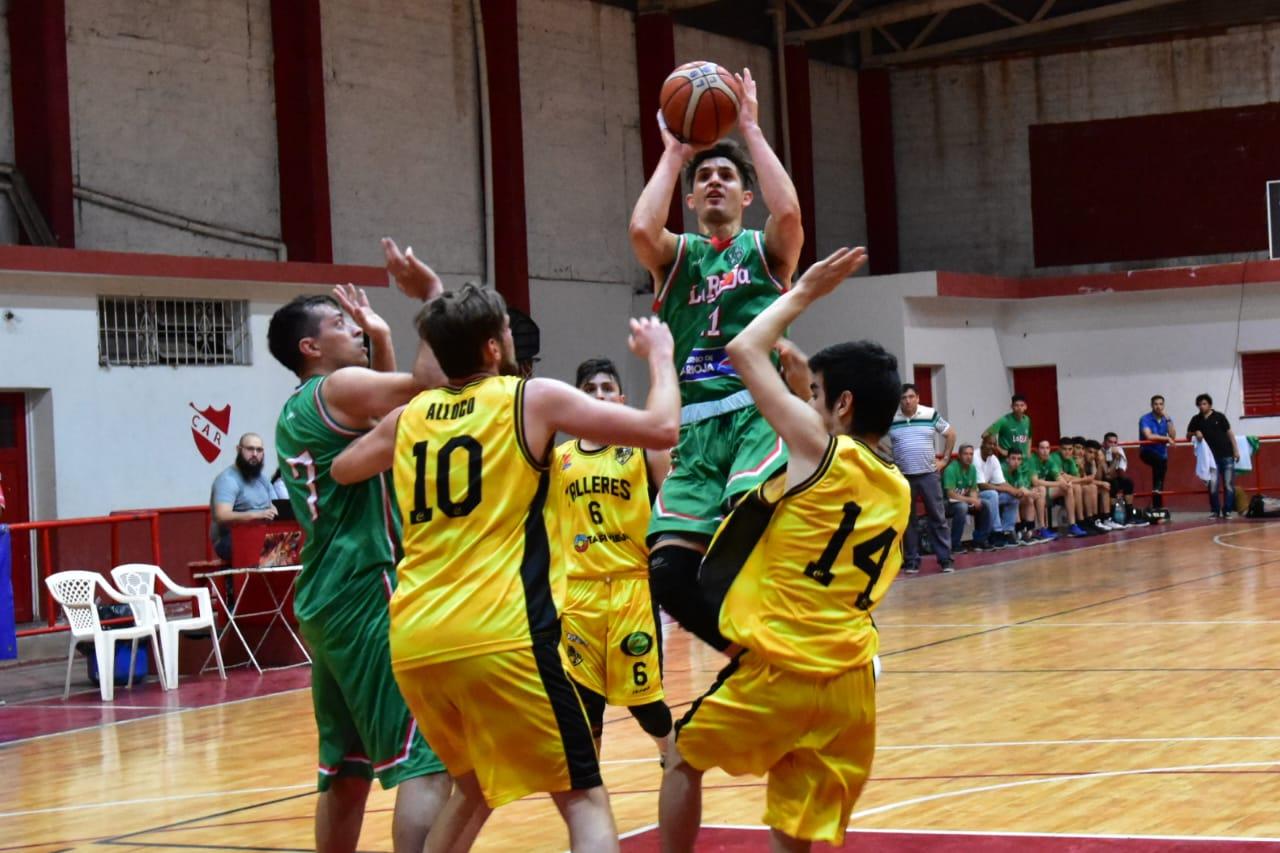 La Rioja Basket logró una valiosa victoria en casa