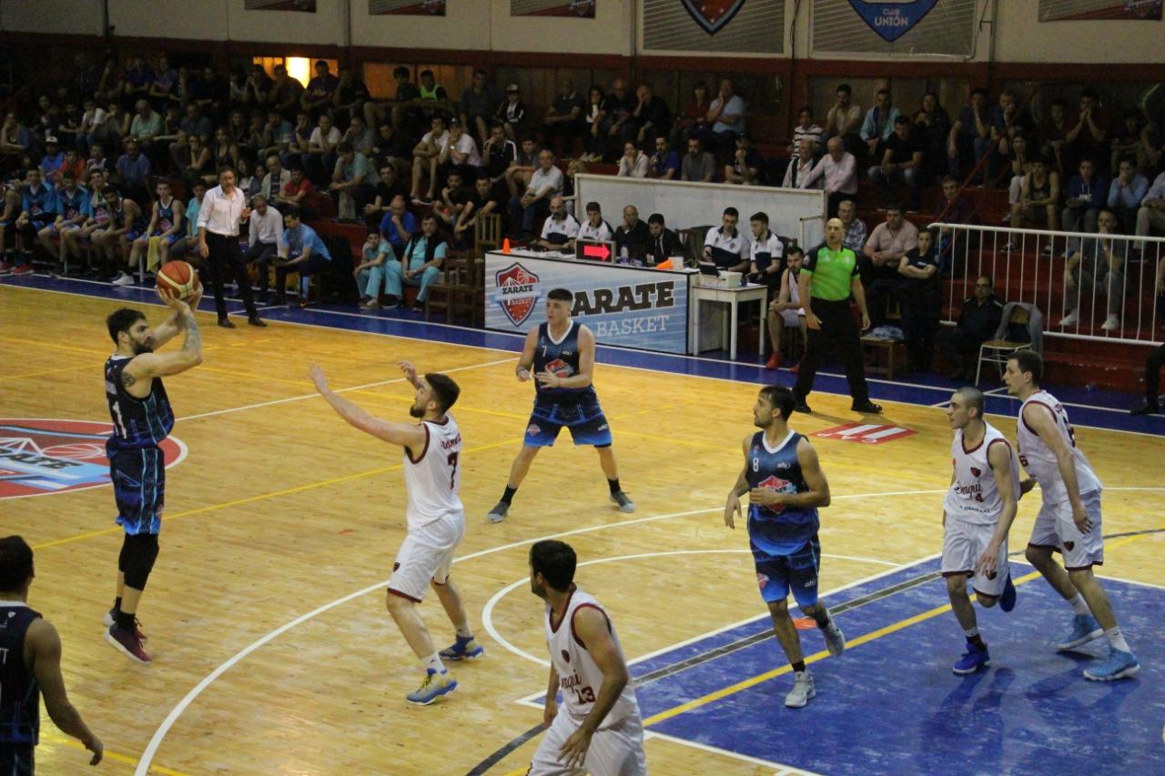 Zárate Basket recibe a Unión Vecinal