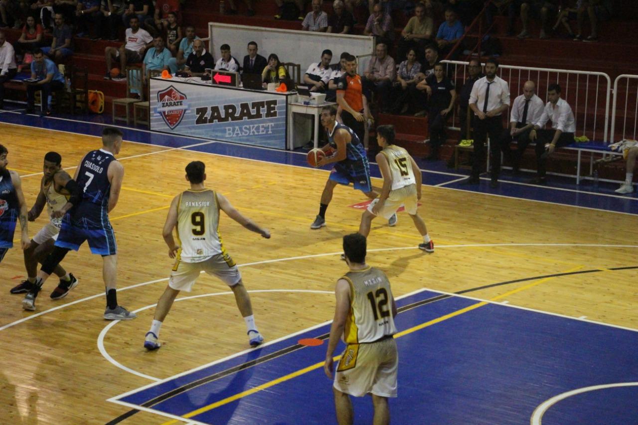 Zárate Basket se presenta en Pilar buscando su cuarto triunfo