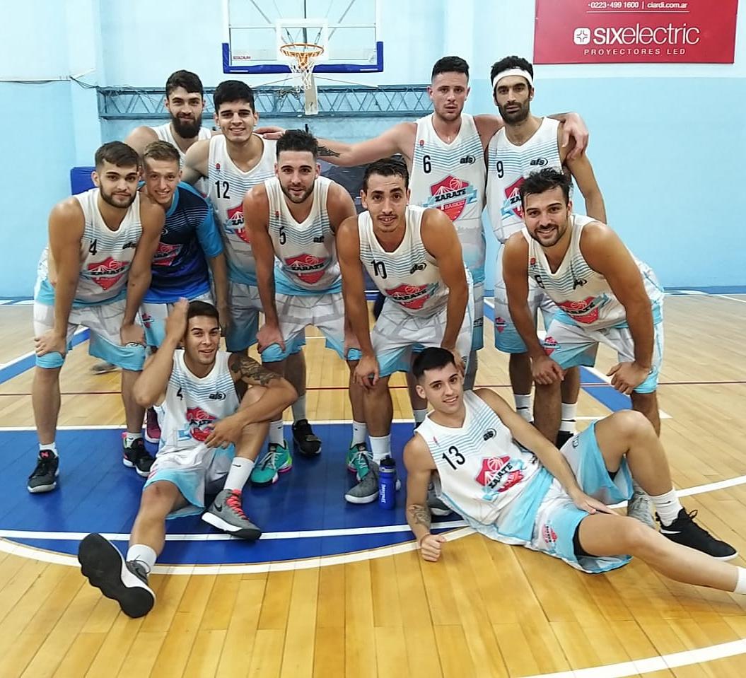 Zárate Basket festejó en Mar del Plata