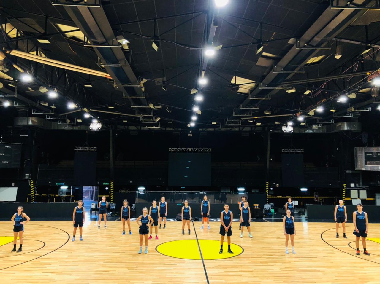 Argentina se prepara: desde el domingo participará del U15 Skills Challenge de FIBA