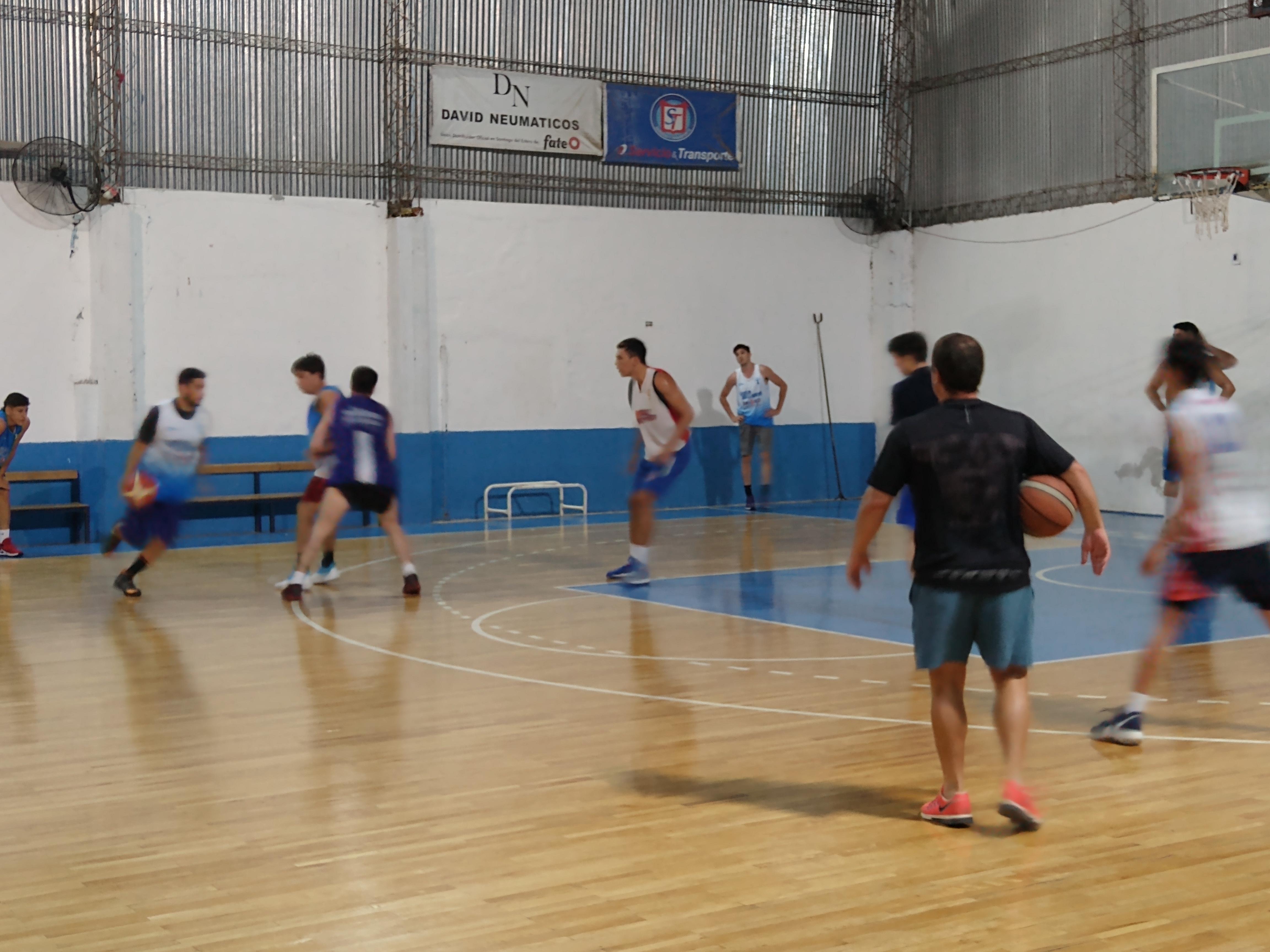 Nicolás Avellaneda intensifica su preparación