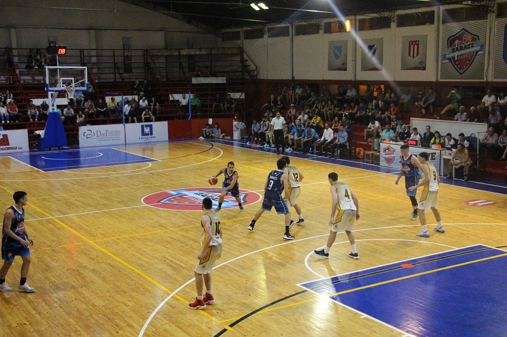 Contundente victoria de Zárate Basket