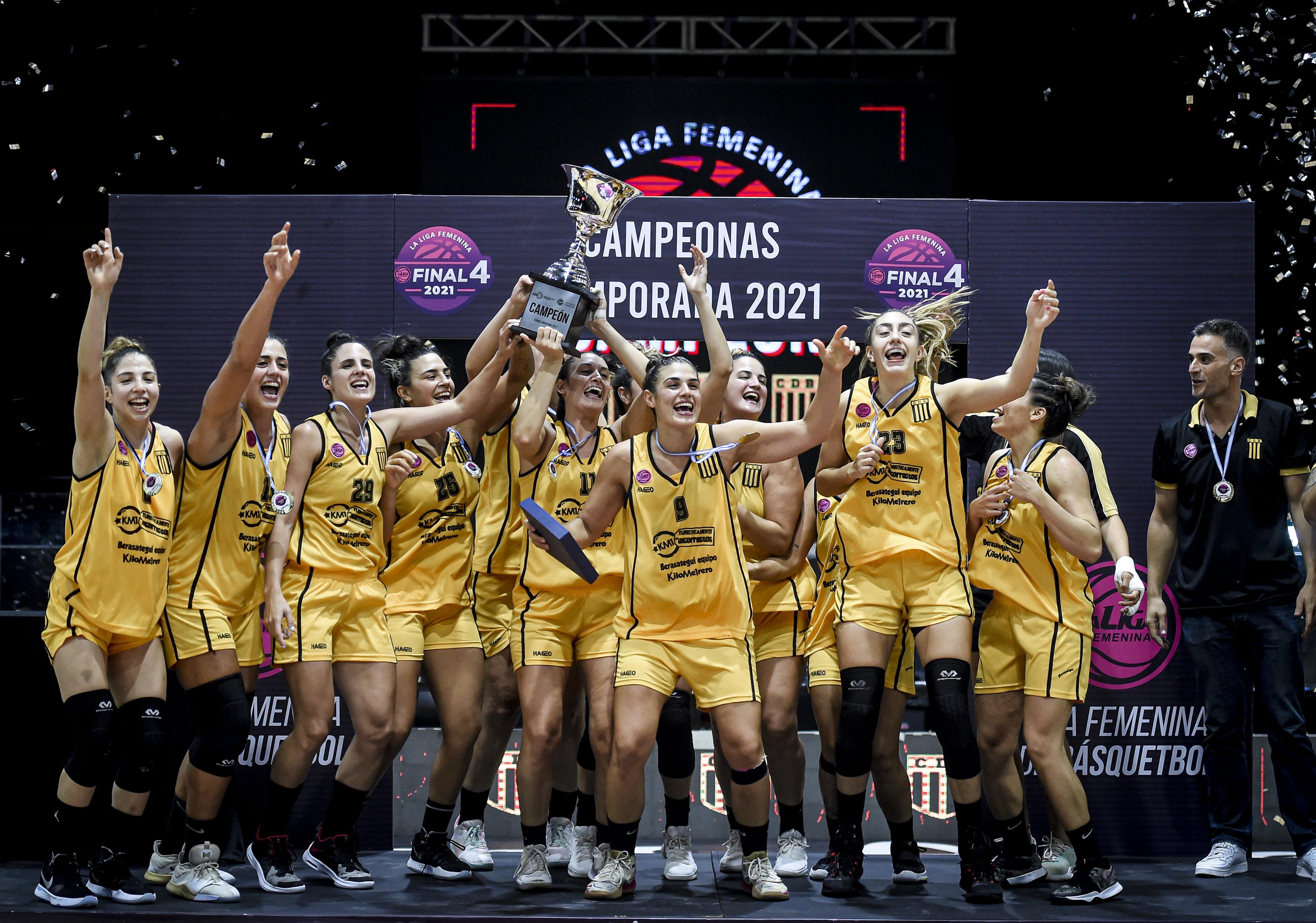 Berazategui campeón de la Liga Femenina: un proyecto con recompensa