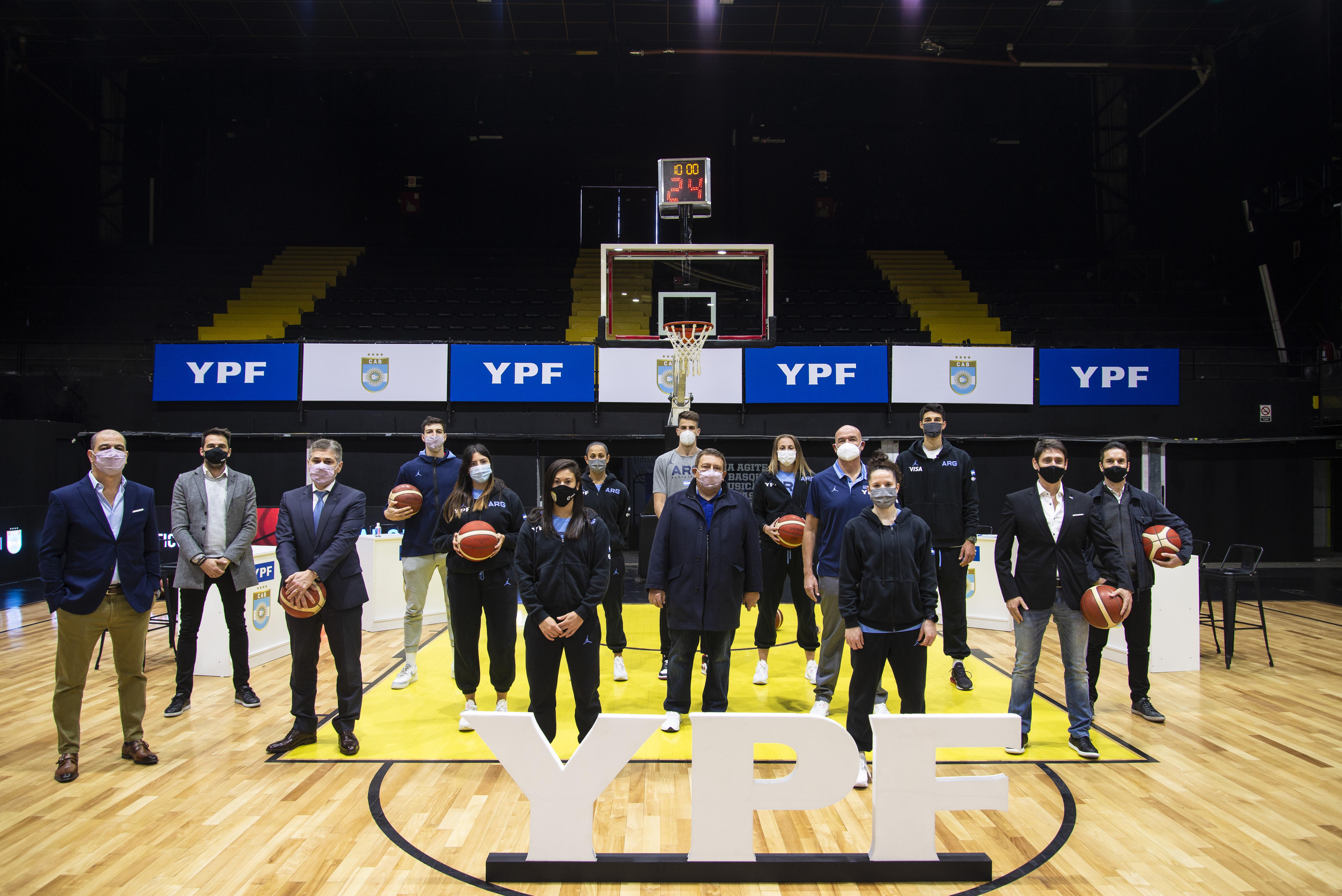 Alianza argentina: YPF une fuerzas con nuestras Selecciones