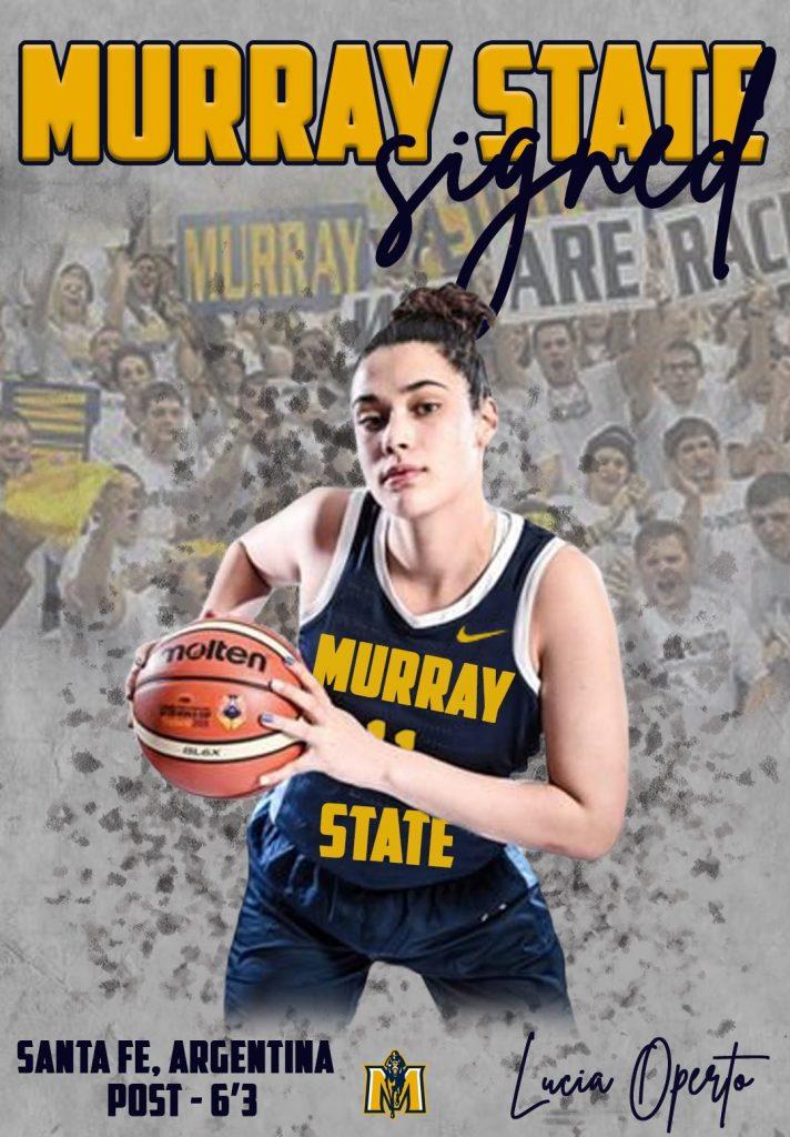 Lucía Operto pasa a Murray State de la NCAA