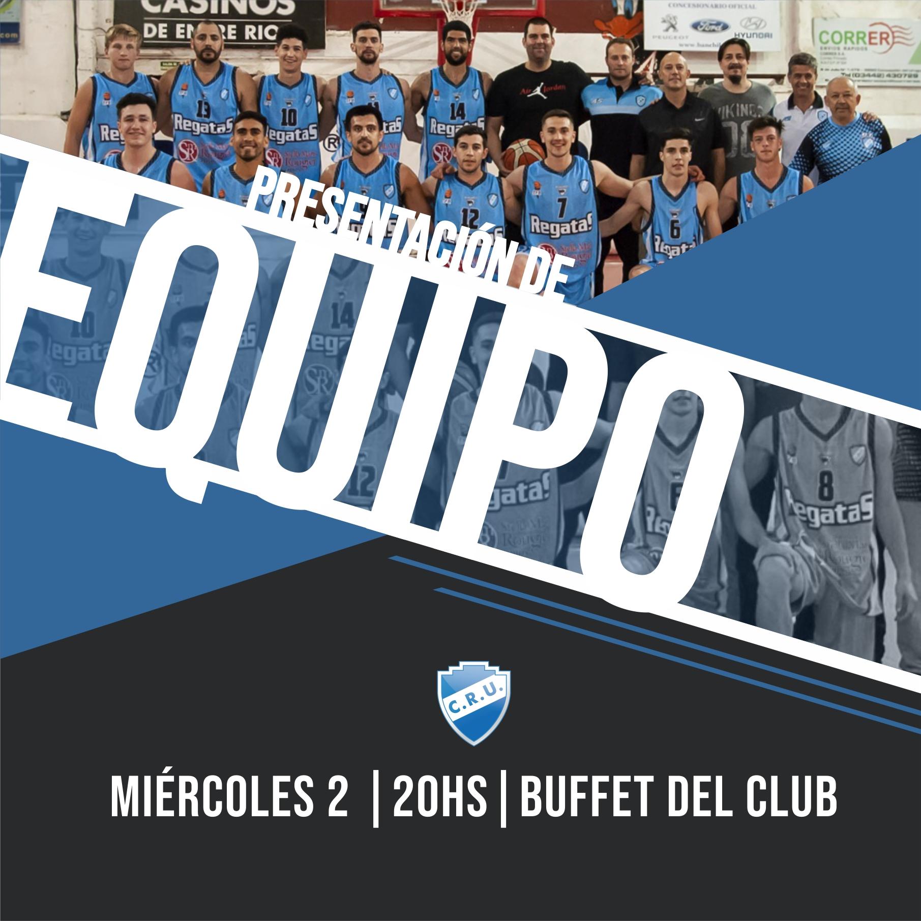 Presentación de equipo y de Copa Río Uruguay
