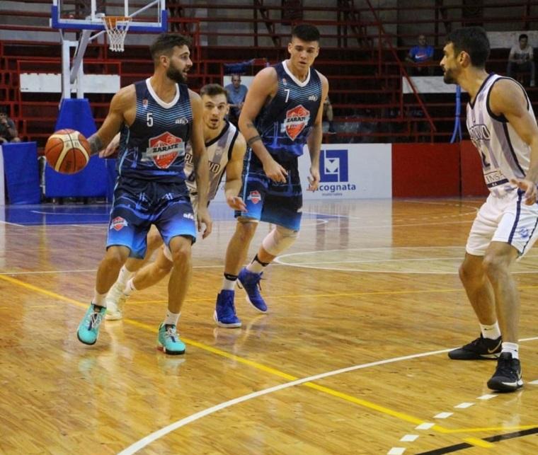 Zárate Basket afronta un duro compromiso en Escobar