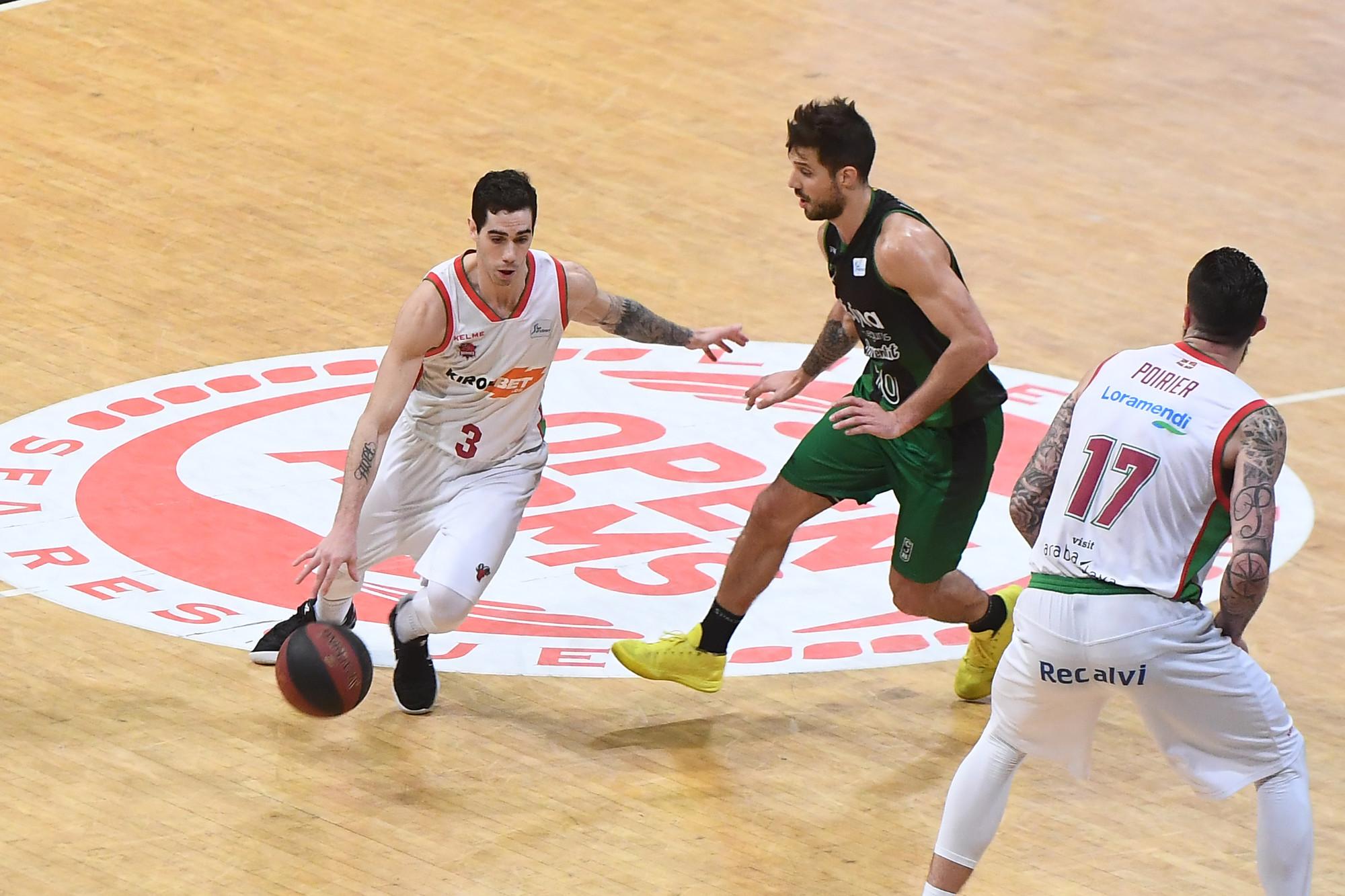 Gran tarea de Luca Vildoza para la victoria de Baskonia en duelo de argentinos