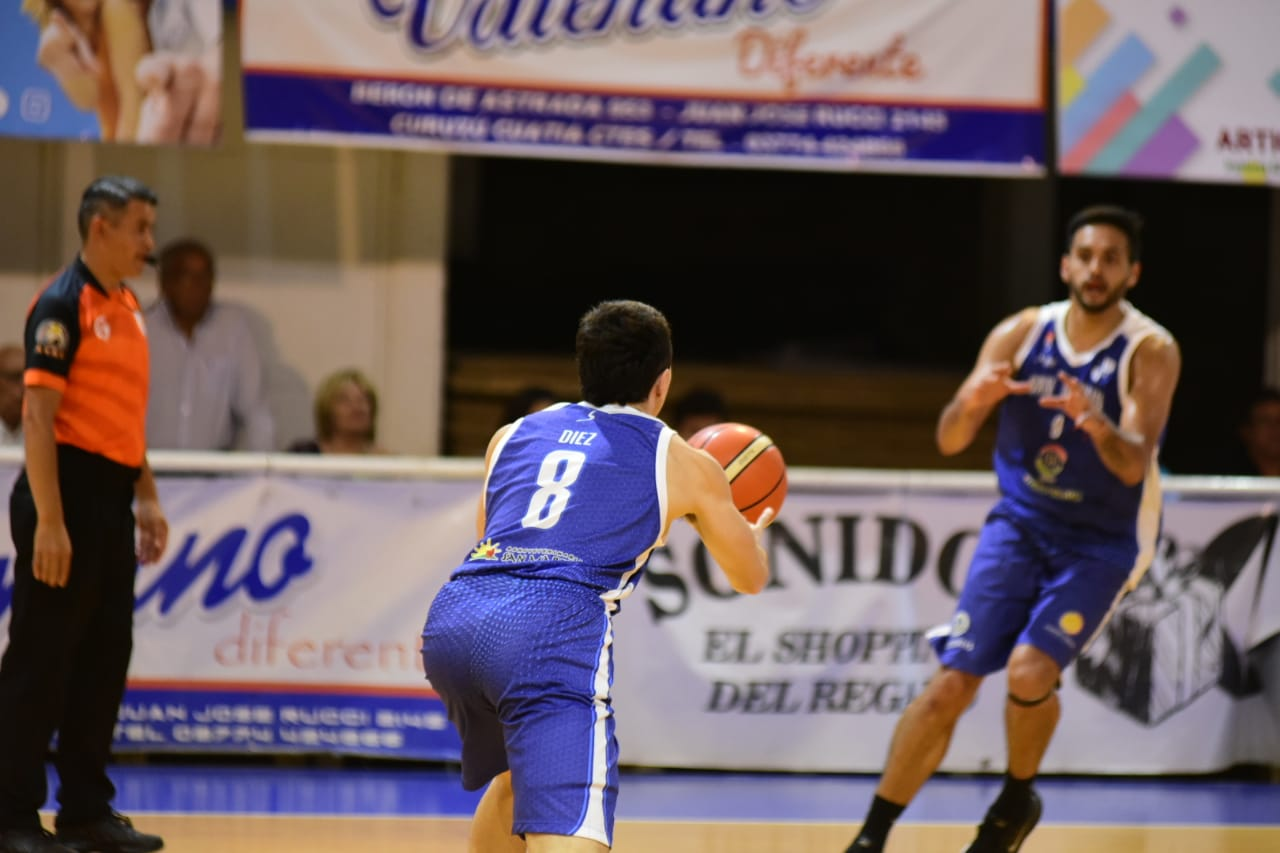 San Martín venció a Sarmiento y lidera en soledad el NEA