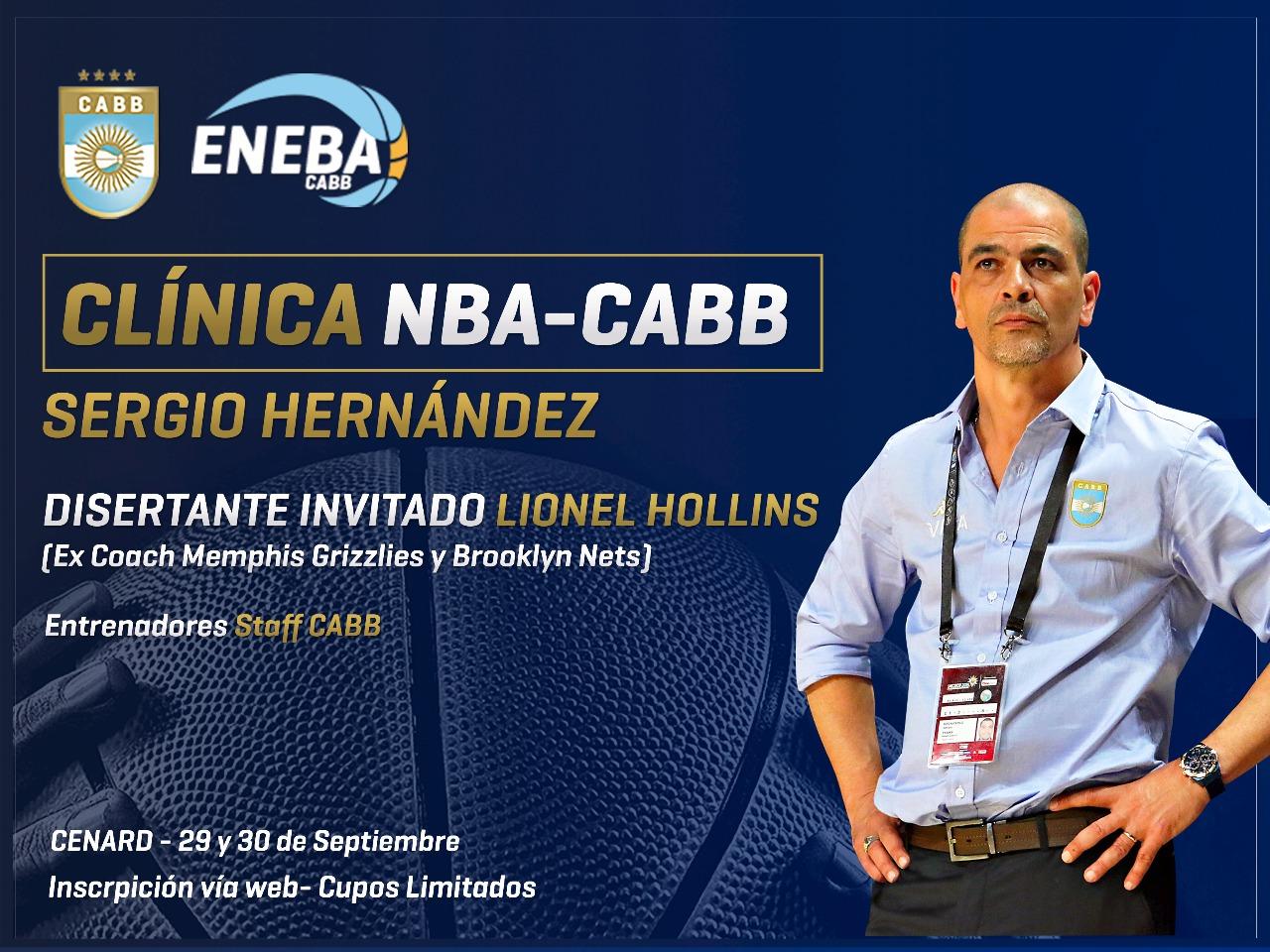 Clínica NBA-CABB gratuita en el CeNARD
