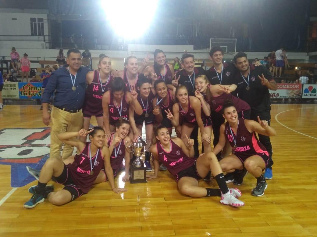 Mendoza se coronó campeón del Argentino de Mayores femenino