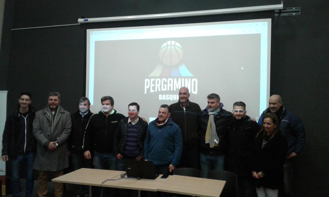 Los clubes oficializaron el proyecto Pergamino Basquet