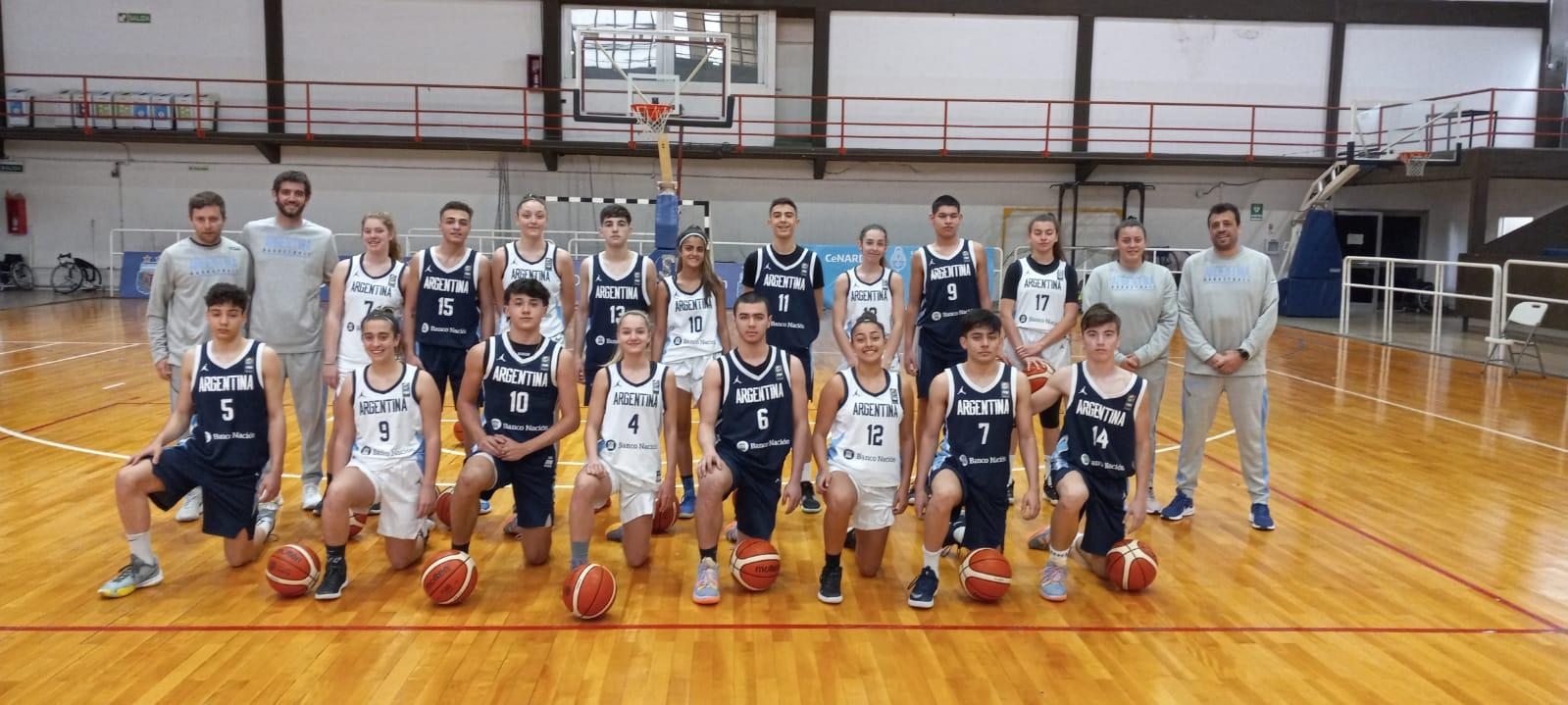 FIBA U15 Skills Challenge: el equipo masculino avanzó a octavos de final