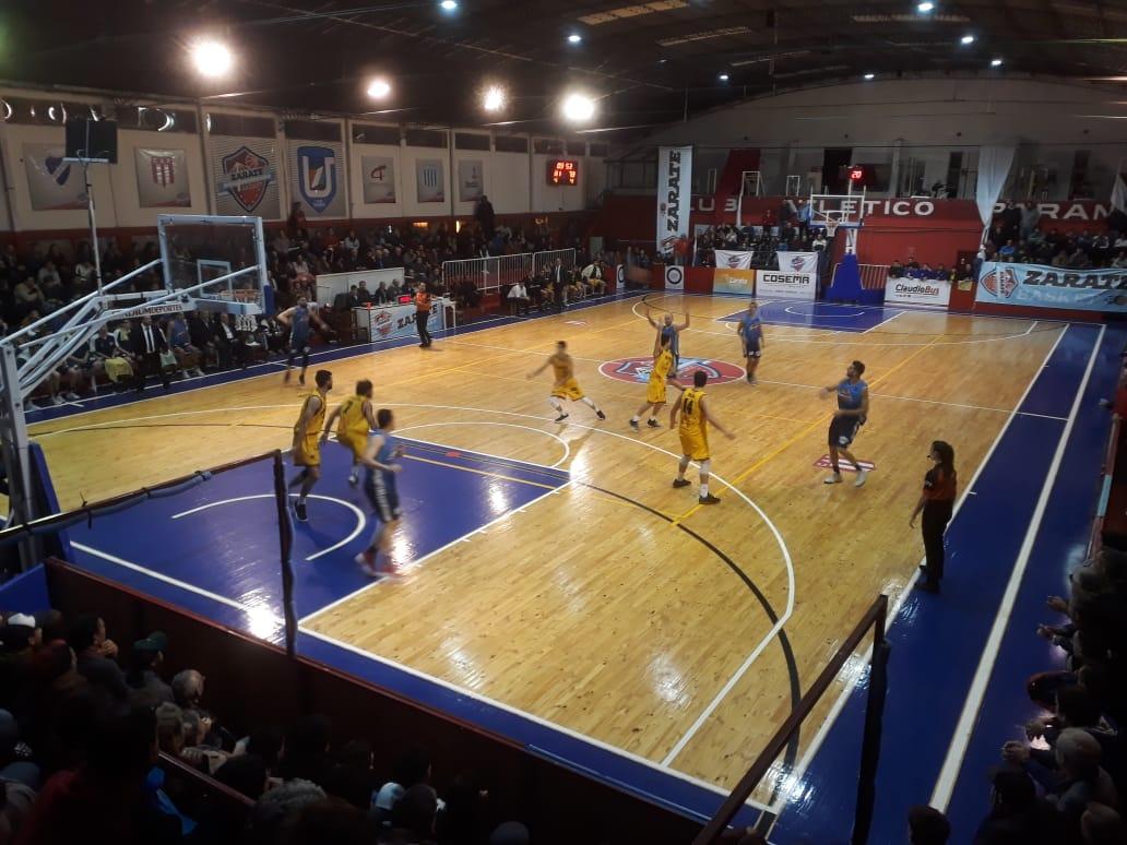Zárate Basket busca esta noche prolongar la serie semifinal con Villa Mitre
