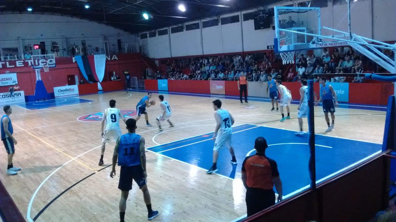 Contundente triunfo de Zárate Basket