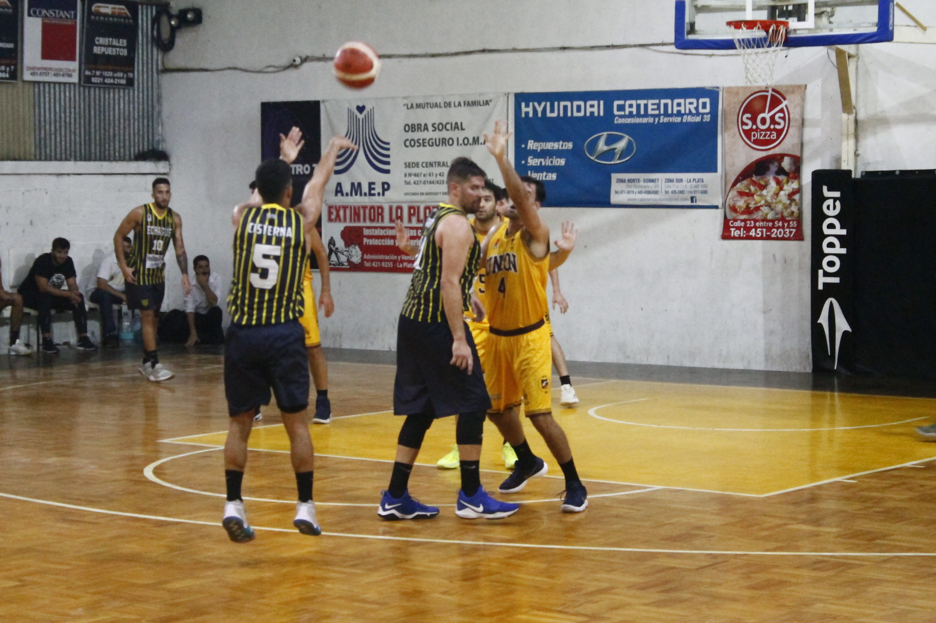 Echagüe festejó en La Plata
