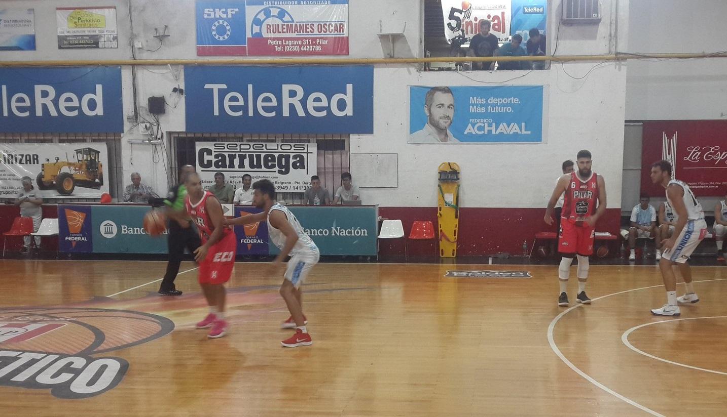 Atlético Pilar ganó un partido difícil ante Unión