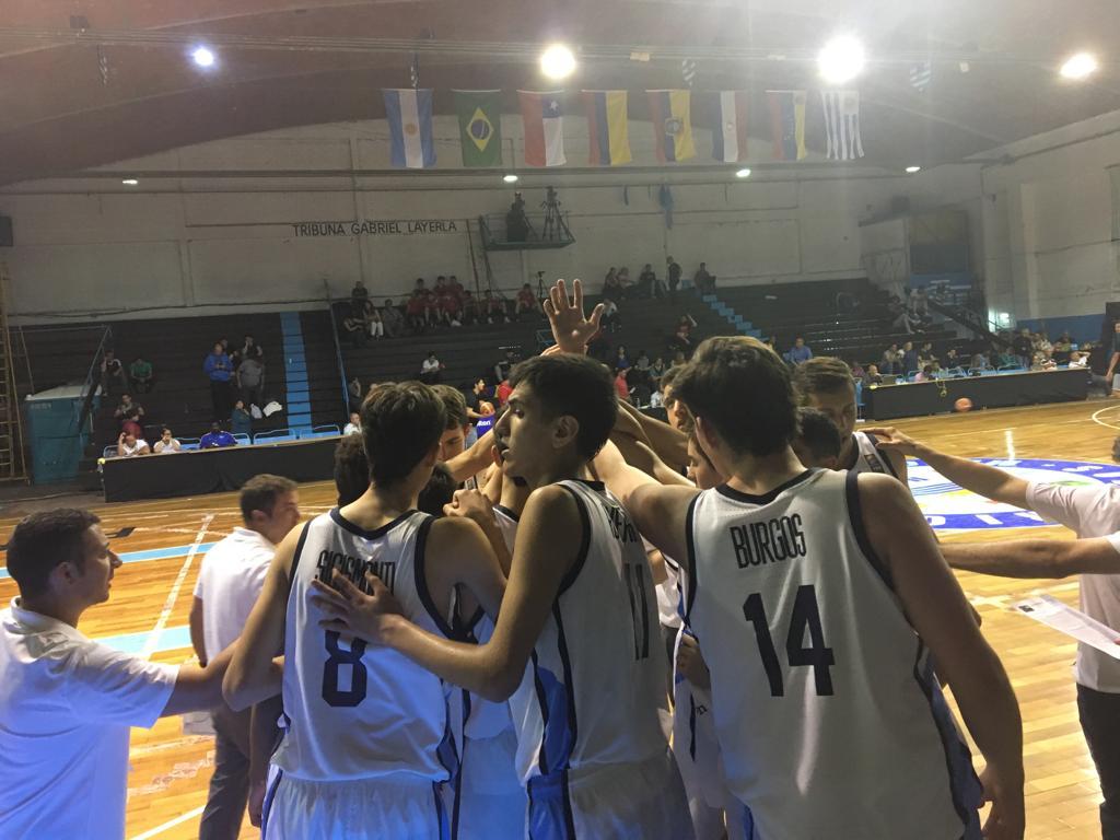 Argentina ganó con autoridad y es semifinalista del Sudamericano U15