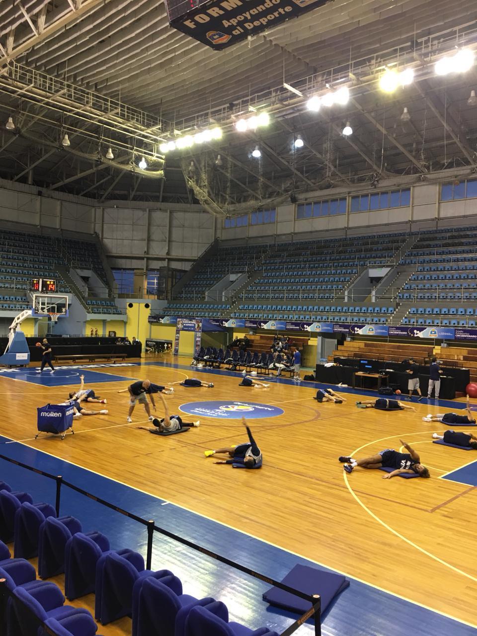 Sin descanso: Argentina llegó a Formosa y realizó su primera práctica