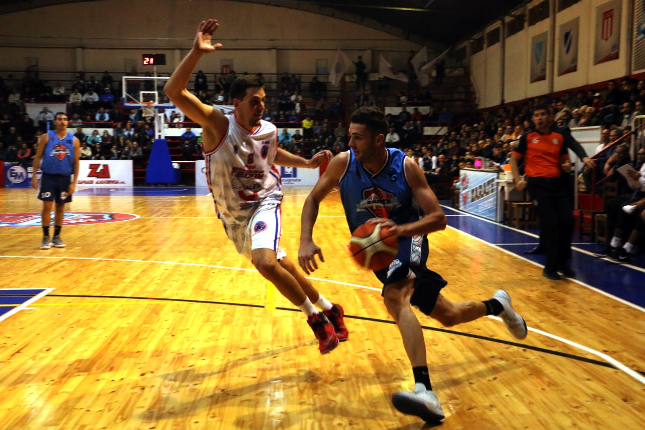 Zárate Basket eliminó a Ferro de Madryn y ya está en la siguiente fase
