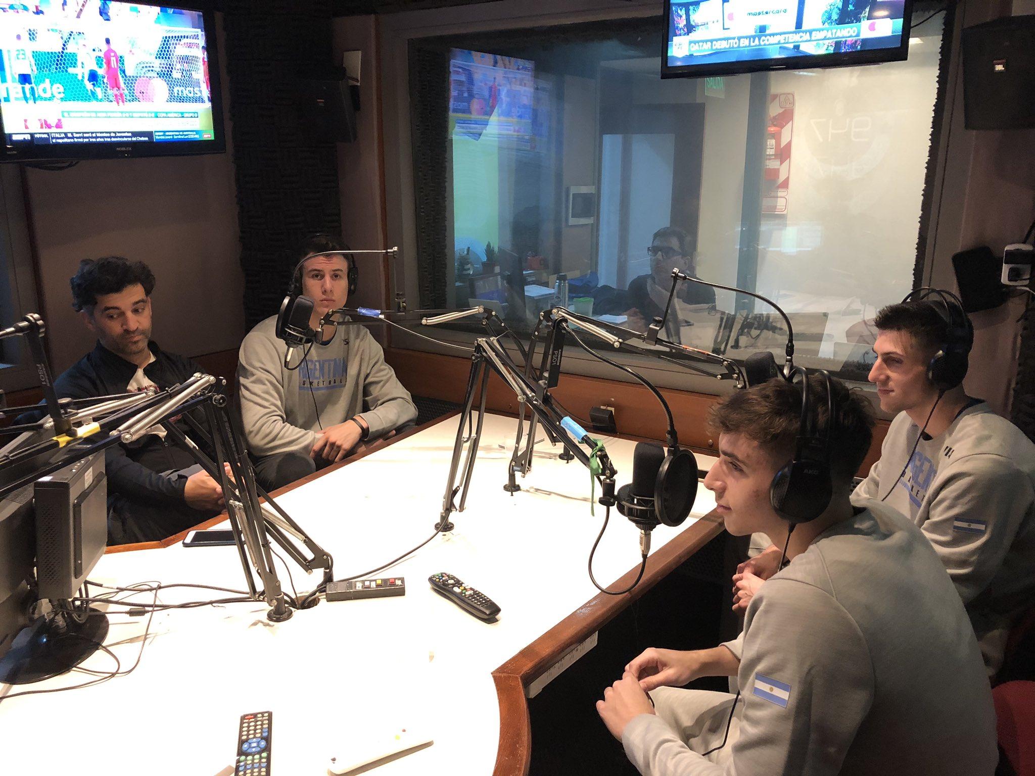 Seigorman, Cáffaro, Farabello y Bolmaro en CABB Radio
