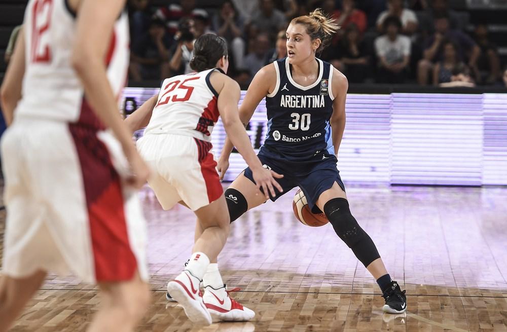 """Flor Chagas: """"Sueño con llegar a la WNBA y estar en París 2024 con la Selección"""""""