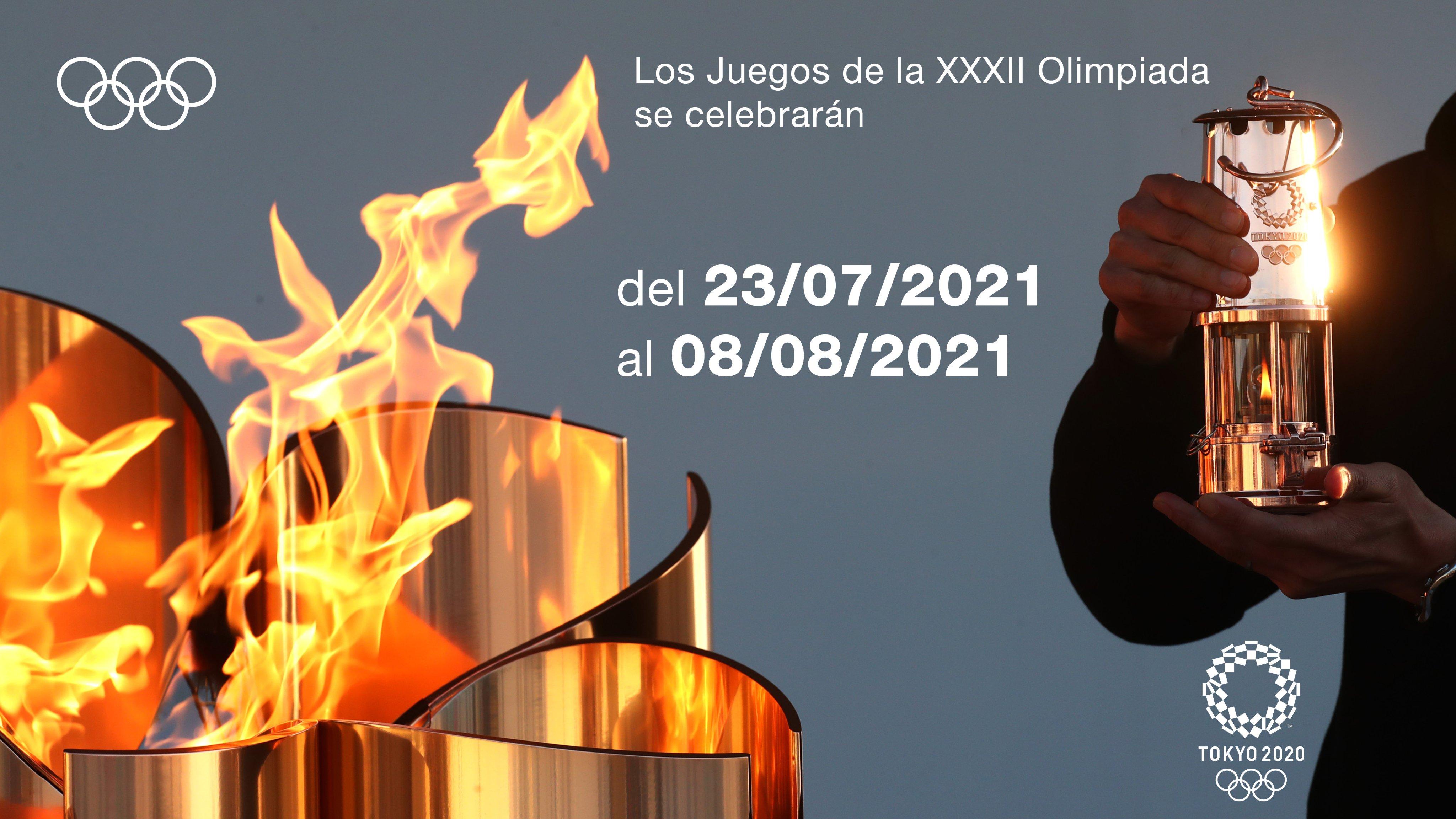 Nuevas fechas para los Juegos Olímpicos