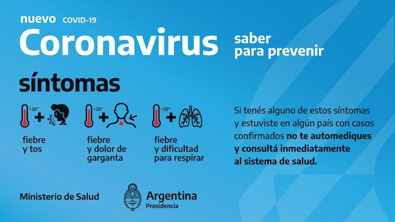 Comunicado Oficial – Coronavirus