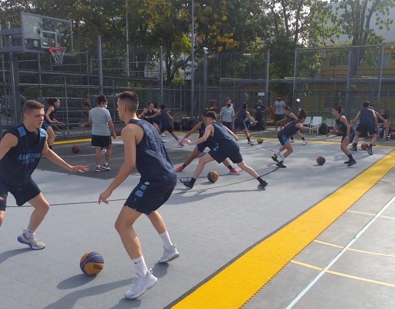 3x3: en marcha los entrenamientos para las Selecciones U23