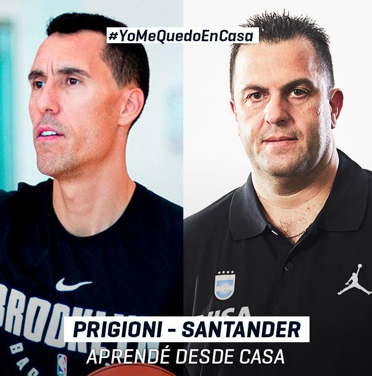 Clase magistral con Prigioni y Santander