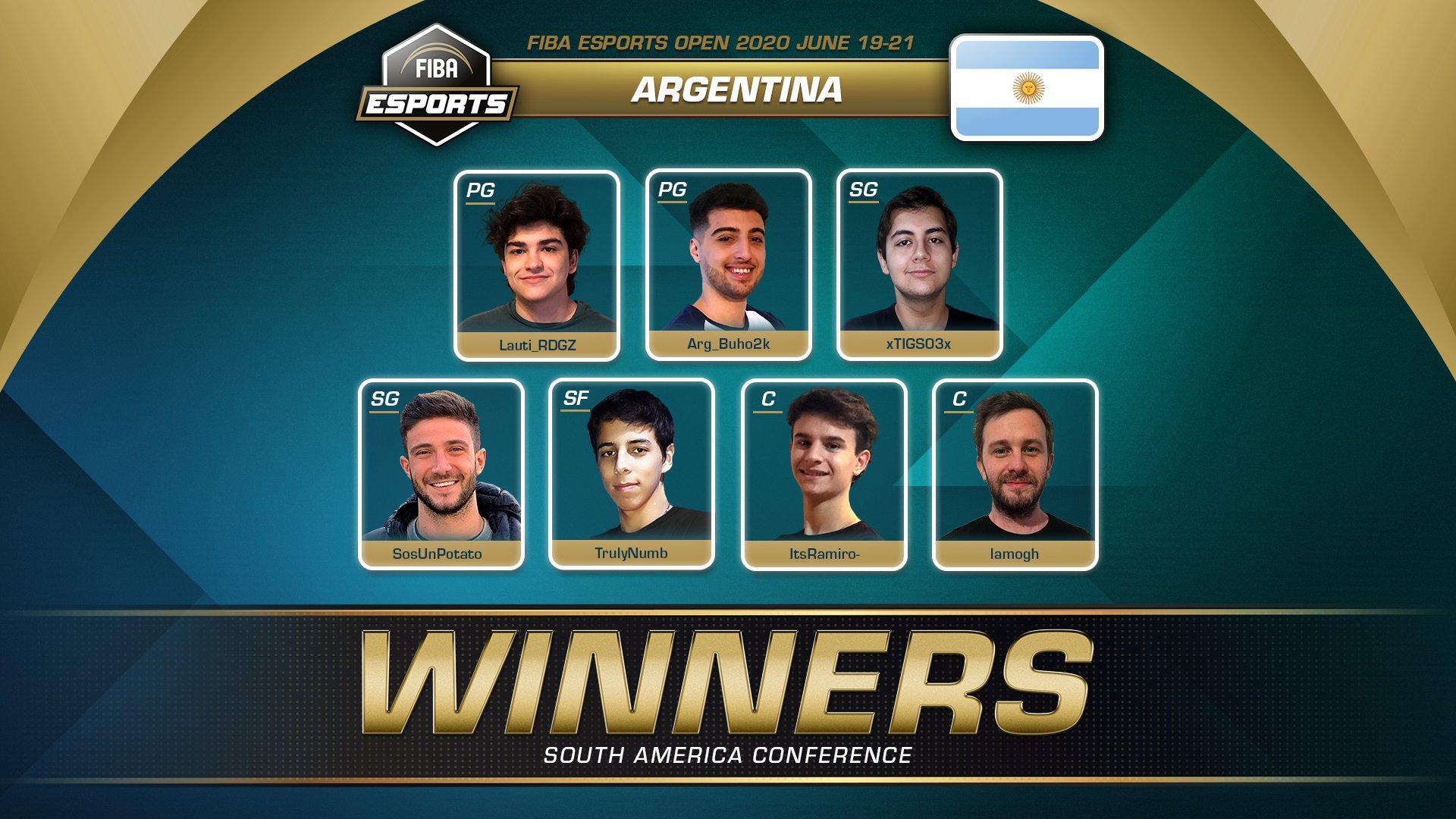 Argentina superó a Brasil en el FIBA Esports Open
