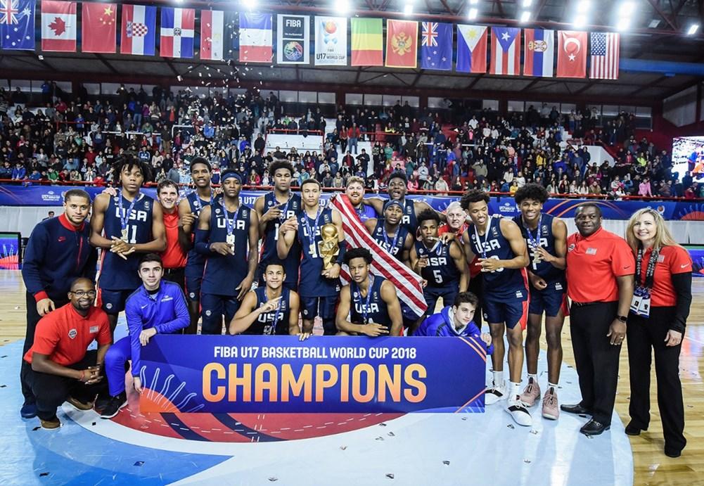 EEUU mantuvo su invicto histórico y se quedó con el quinto Mundial U17 consecutivo