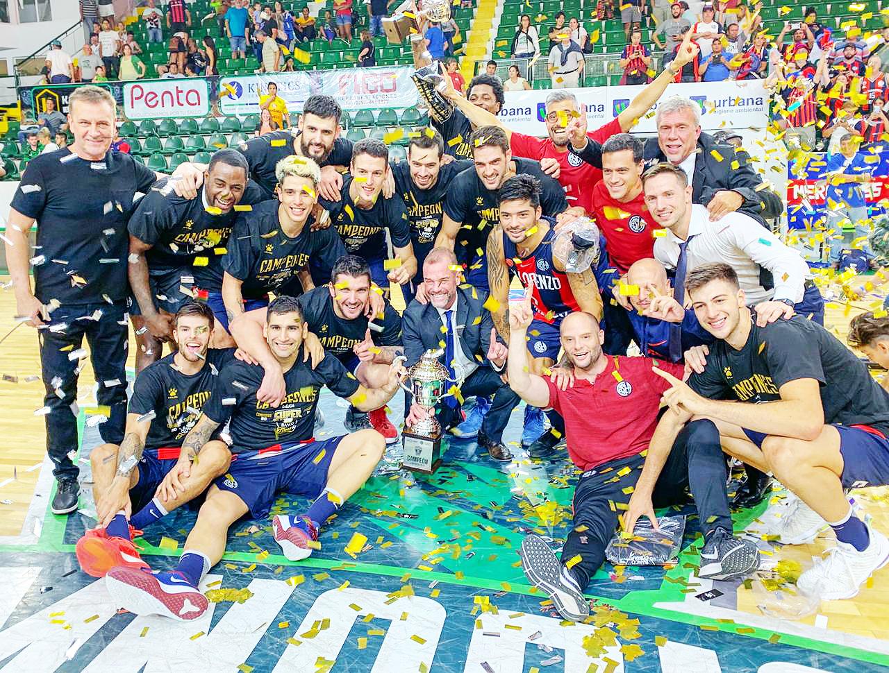 ¡San Lorenzo campeón del Súper 20!