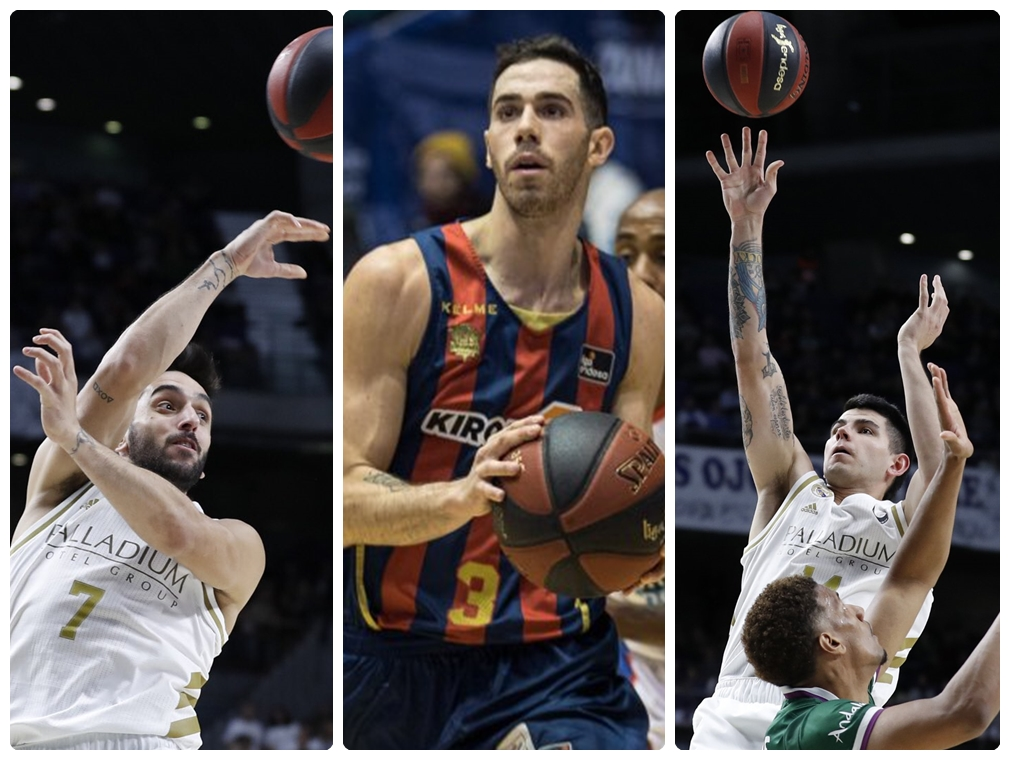 Real Madrid sigue firme en la cima de la ACB