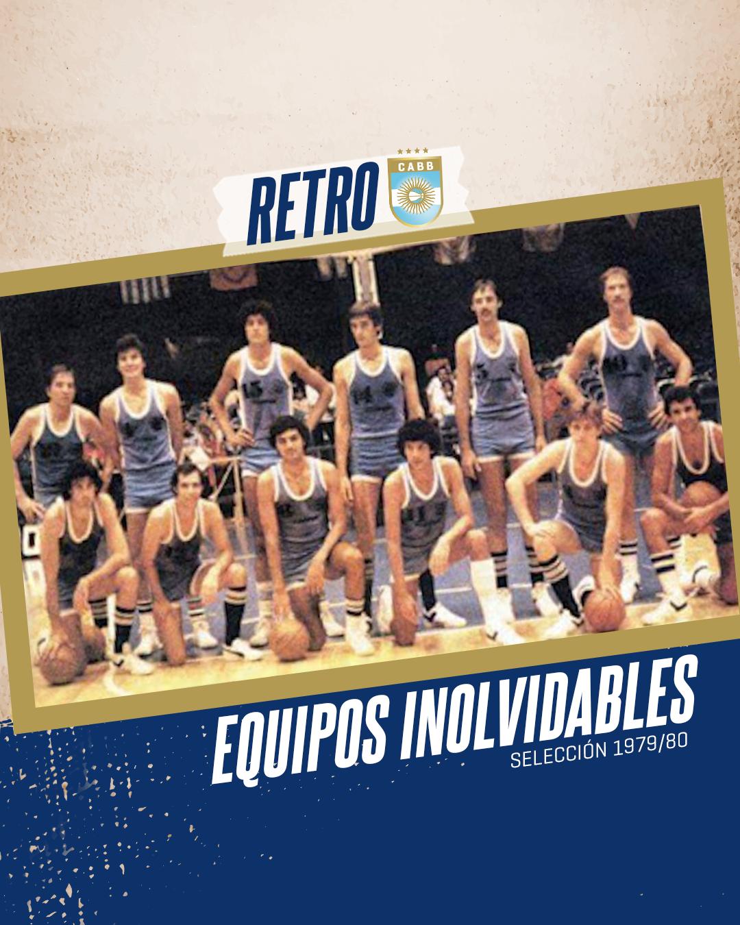 Equipos inolvidables: la Selección 79/80 y el renacer del básquet argentino