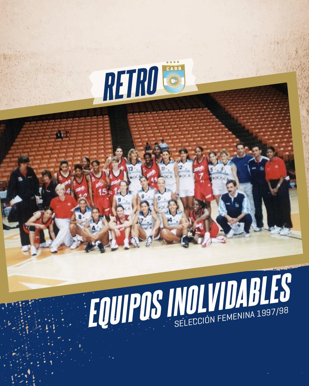 Equipos inolvidables: la Selección femenina 97/98 y el ascenso a la elite